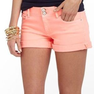 Lilly Pulitizer size 0 Coral Clifton shorts